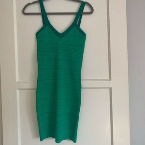 NWOT Green Guess Bodycon Dress